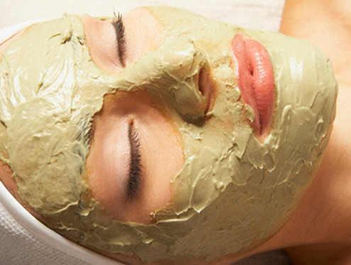 применение бесцветной хны - маски для лица