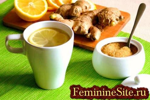 Как имбирный чай способствует плавному похудению и оздоровлению организма