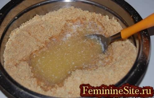 Рецепт чизкейка в домашних условиях - печенья