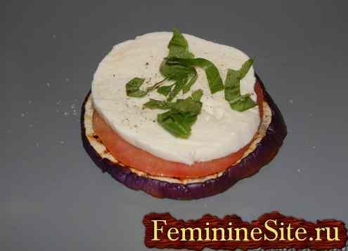 Баклажаны с помидорами рецепт с фото.