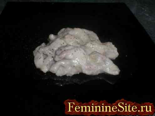 Курица в молоке рецепт с фото