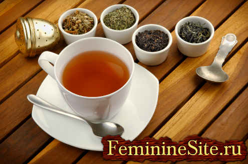 Травяной чай – отличное средство для очищения организма