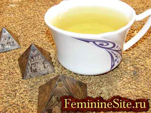 Желтый чай из Египта
