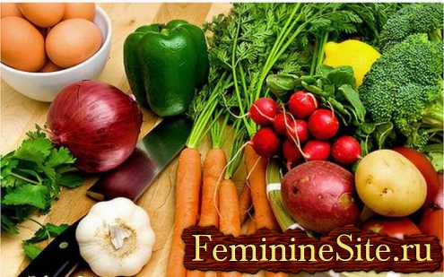 советы для похудения - мясо или овощи