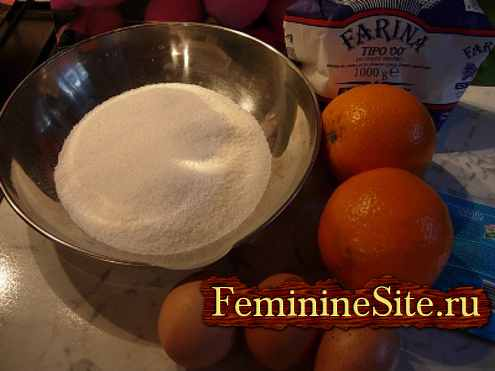 приготовить торт из апельсинов - рецепт с фото №2