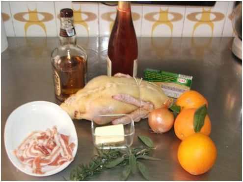 Как приготовить утку с апельсиновым соком. Фото №1