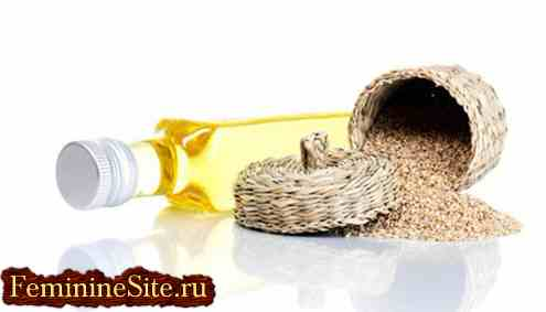 Кунжутное масло: целебные свойства и применение.
