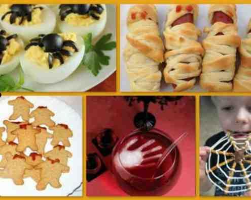 Блюда на хэллоуин рецепты с фото