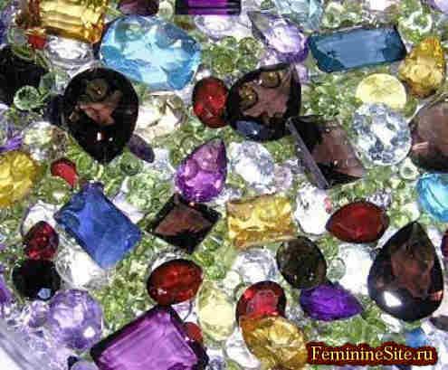 Мир драгоценных камней природного происхождения