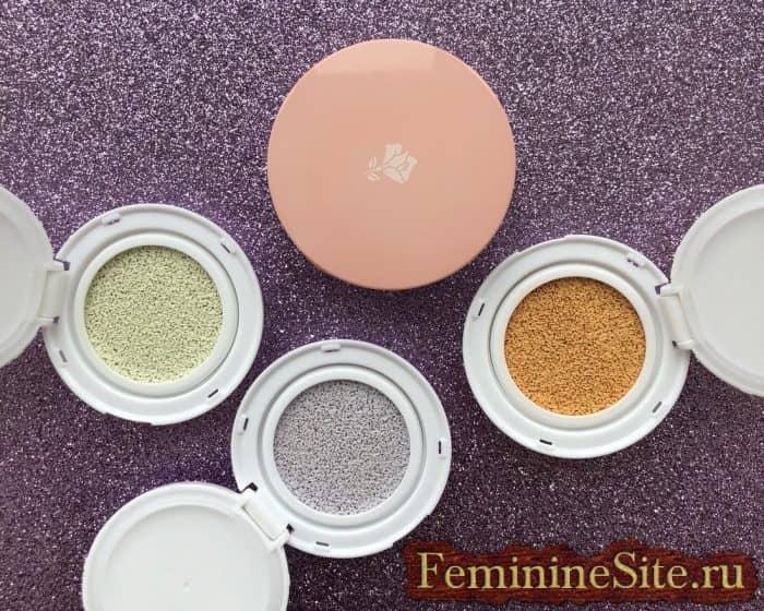 Лучший корректор для осветления участков кожи — Lancôme Miracle CC Cushion Color-Correcting Primer