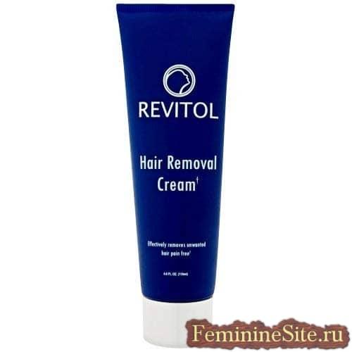 Revitol ориентирован прежде всего на мягкое удаление волос
