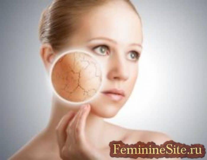 Отшелушевание кожи