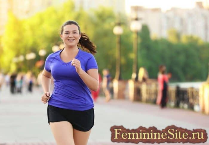 Бег для похудении