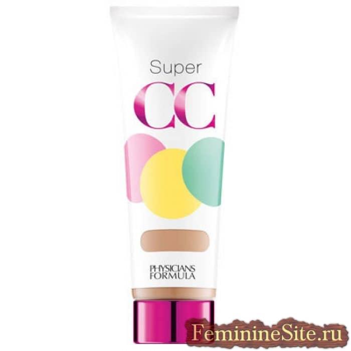 Самый надежный осветлитель кожи - Формула Super CC для врачей Color-Correction + Care All-Over Blur CC с кремом и грунтовкой