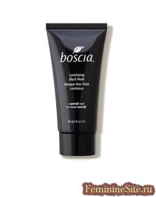 Черная сияющая маска Boscia