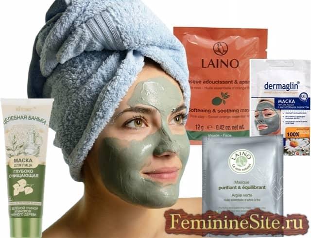 Общая лучшая глиняная маска для ваших пор